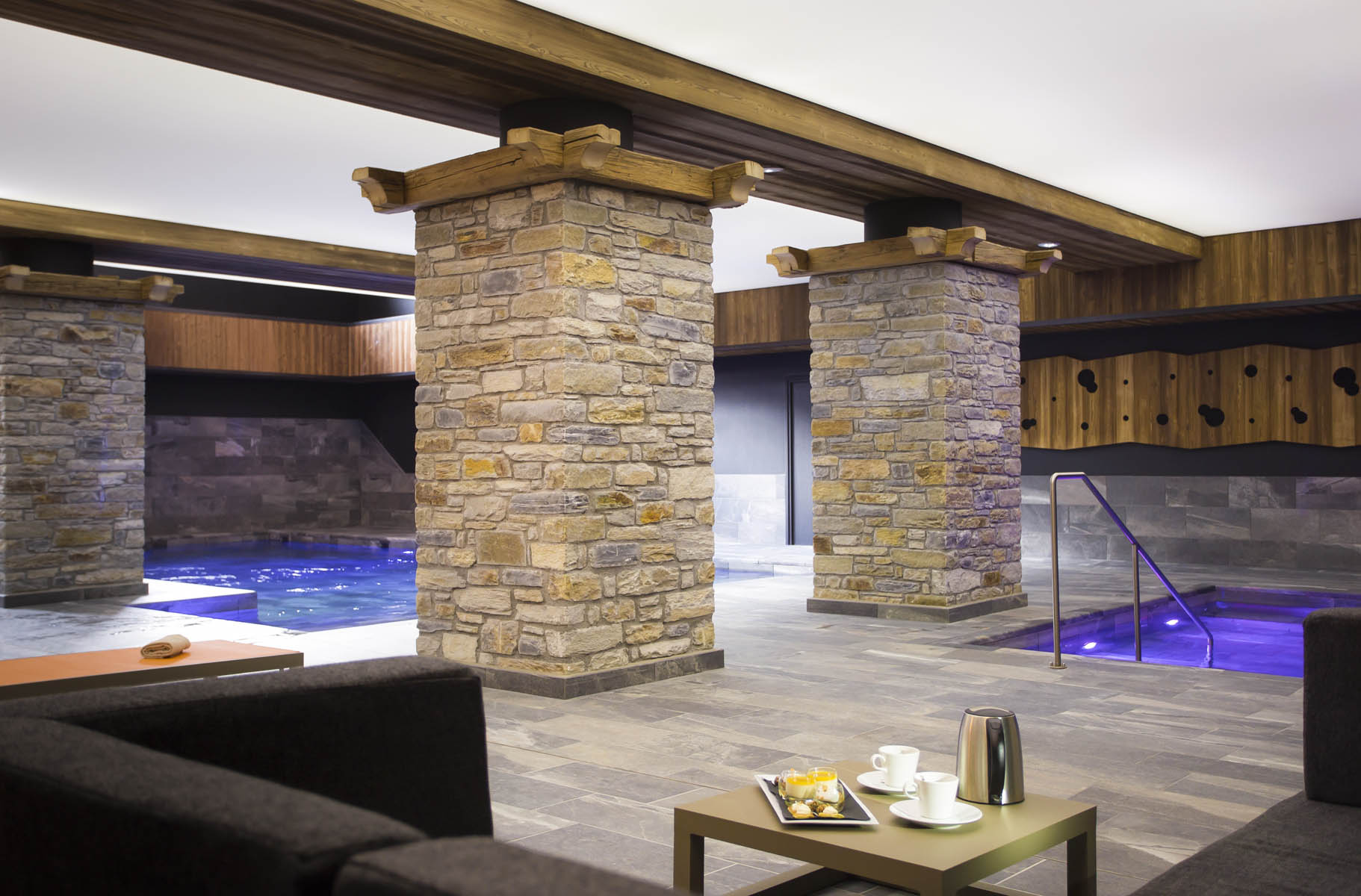 """""""Pure Altitude"""" Spa in the hotel Saint Charles"""